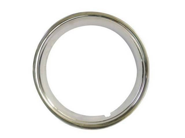 TRIM RING, Wheel, outer, styled steel wheel, accurate