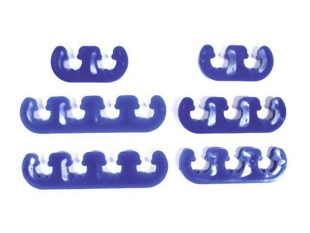 DIVIDERS, SPARK PLUG WIRE, CUSTOM BLUE