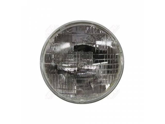 BULB SEALED BEAM Headlight W/ FOMOCO SCRIPT 6014