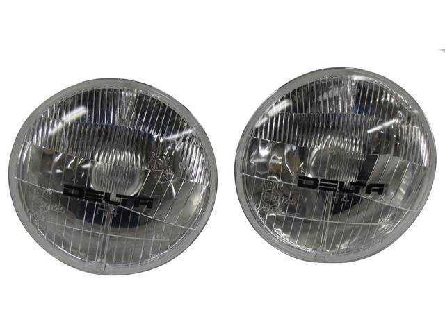 Headlight HOUSING, 5 3/4 INCH, LOW BEAM, PAIR,