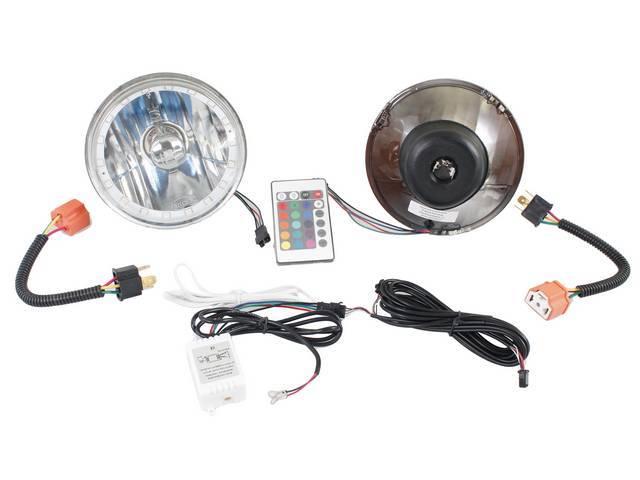 BULB SET, Halo LED, 5 3/4 inch, Multi