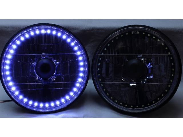BULB SET, Halo LED, 7 inch, single color