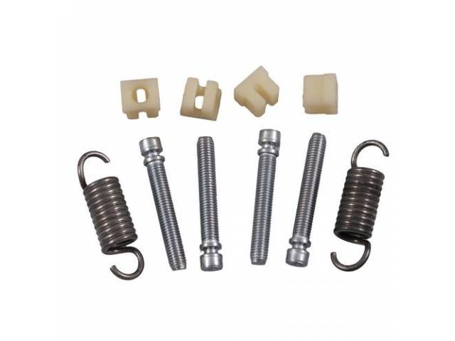 ADJUSTER KIT Headlight concours correct springs adjusters and
