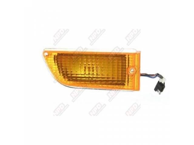 PARK LIGHT ASSY, RH