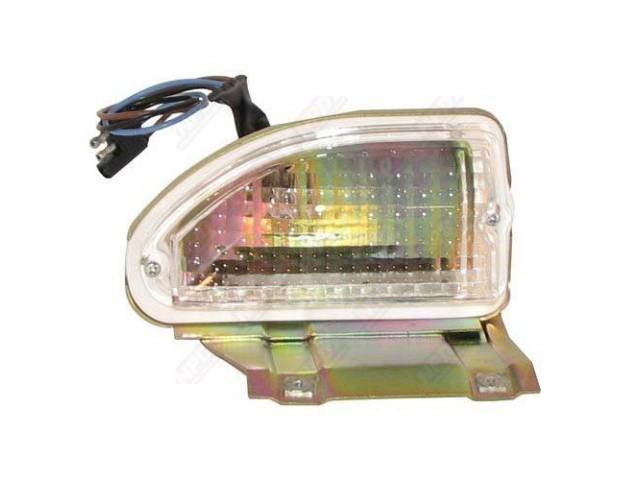 PARK LIGHT ASSY, LH, USES METRIC THREADS, REPRO,