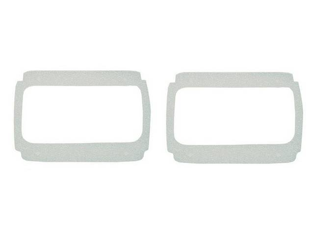 PADS, TAILLIGHT MOUNTING
