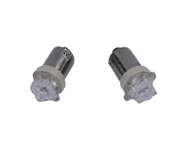 LED KIT, RALLY PAC OR DASH CLOCK