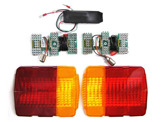 LED SEQUENTIAL TAILLIGHT CONVERSION
