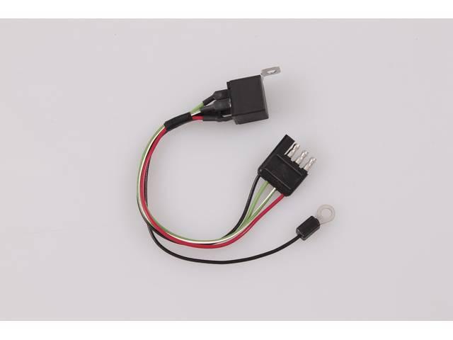 RELAY, Warning Light Indicator, brake light, functional replacement,