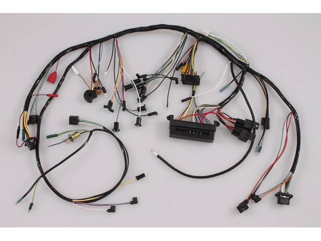 WIRING ASSY, Under Dash Main, this custom harness