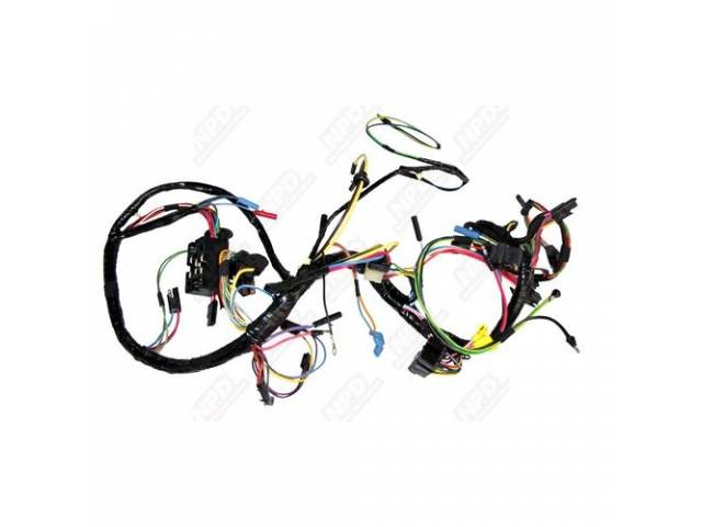 WIRING ASSY UNDER DASH MAIN BEST REPRO DOES