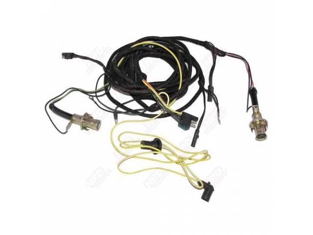 TAILLIGHT HARNESS, incl factory style heat sealed sockets