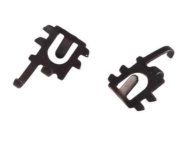 CLIPS Switch Retainer power window switches to housing