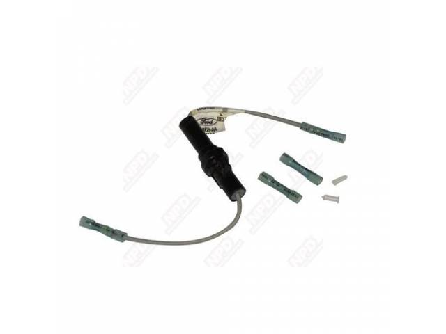 SHELL WIRE CONNECTOR FEMALE BLACK NYLON REPLACEMENT STYLE