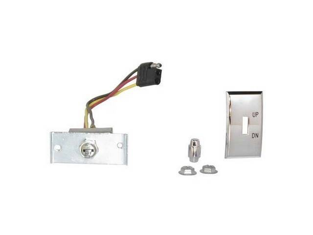 SWITCH ASSY, CONVERTIBLE TOP CONTROL