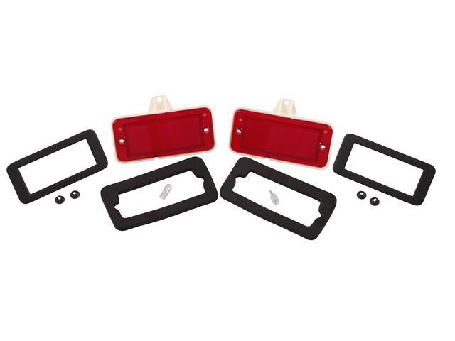 MARKER LIGHT KIT Rear Quarter Panel Compete kit