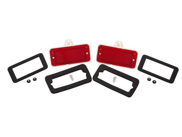 MARKER LIGHT KIT Rear Quarter Panel Compete kit
