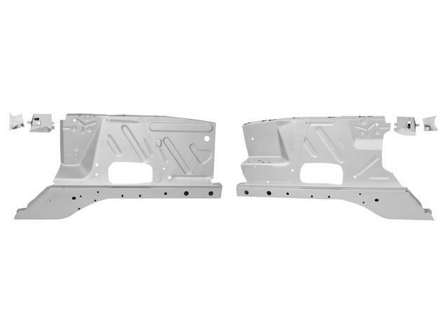INNER FENDER AND SHOCK TOWER ASSY, Front, pair,