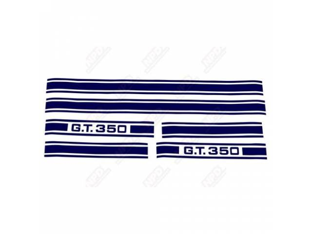 STRIPE KIT GT-350 BLUE US-made automotive grade vinyl