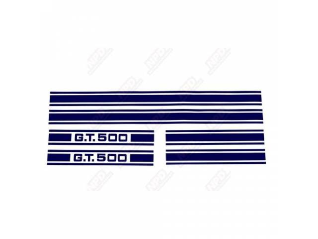 STRIPE KIT GT-500 BLUE US-made automotive grade vinyl