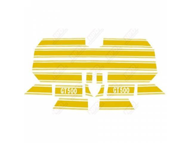 STRIPE KIT, GT-500, GOLD