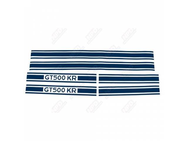 STRIPE KIT GT-500KR BLUE