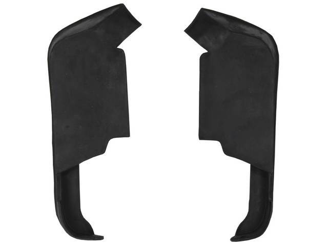 SPLASH SHIELDS Front Fender to bumper repro Filler
