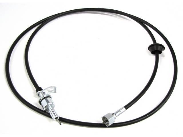 CABLE AND HOUSING, SPEEDOMETER, 77 1/16 INCH LONG,