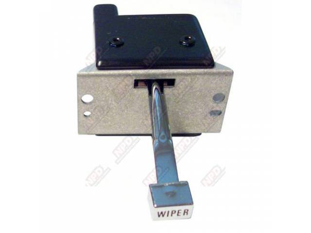 SWITCH ASSY Windshield Wiper 2 speed US-made repro