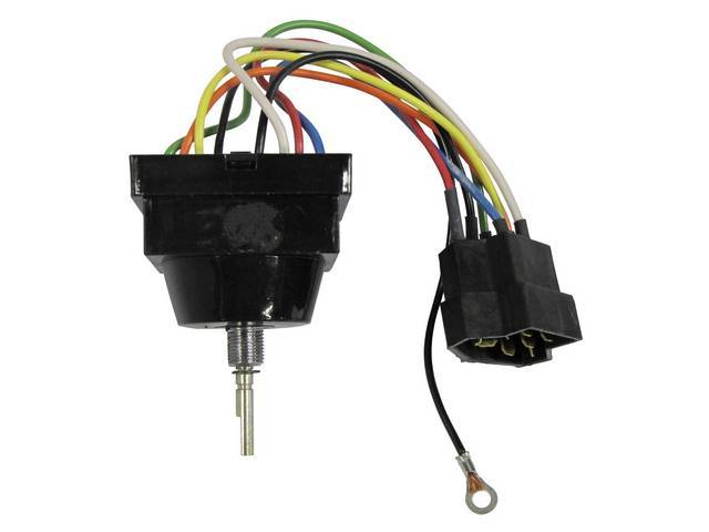 SWITCH ASSY, WINDSHIELD WIPER AND WASHER