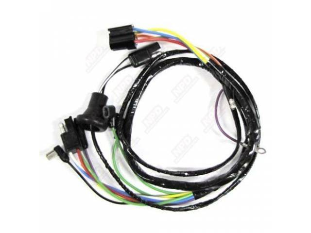 WIRE ASSY WIPER MOTOR TO UNDER DASH HARNESS
