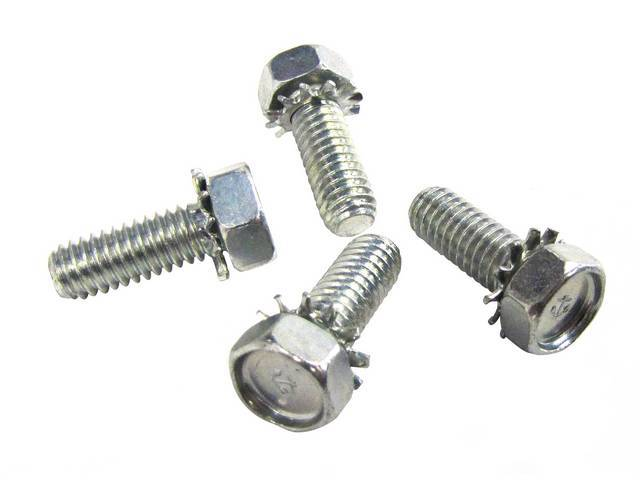 MOUNTING BOLTS, FRONT SHOCK, upper mounting, course thread