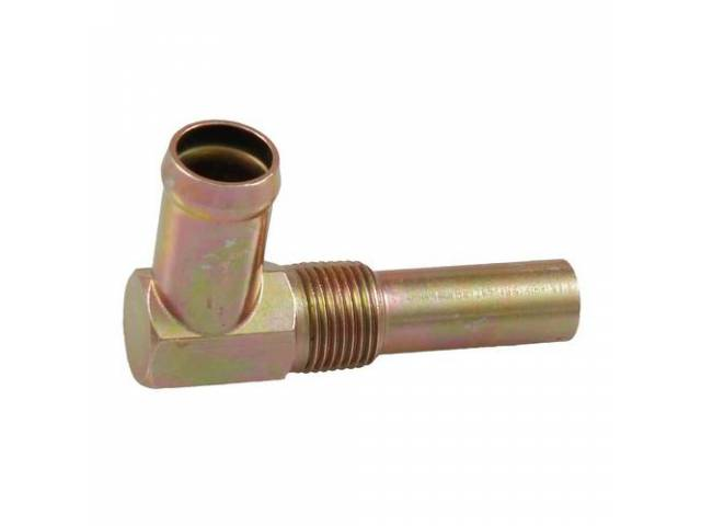 CONNECTION Heater Hose zinc dichromate