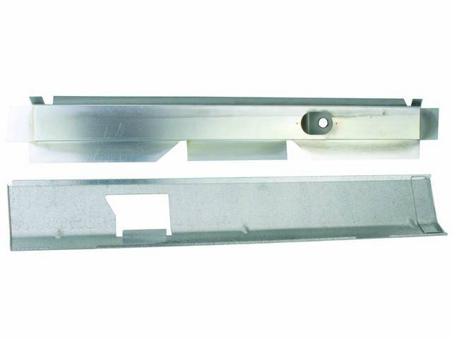 MOUNTING PLATE SET, UPPER STAGGERED SHOCK, IDENTICAL TO