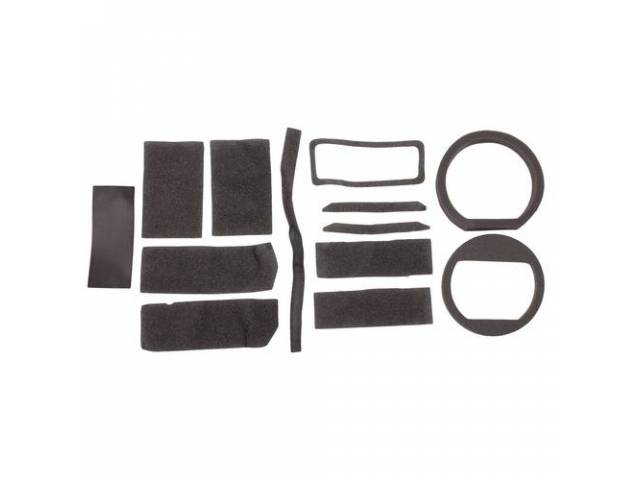 GASKET SET Heater Box repro kit includes some