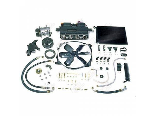 A/C SYSTEM DAILY DRIVER COMPLETE R-12 UNDER DASH
