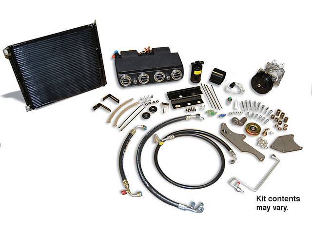 A/C SYSTEM, DAILY DRIVER, COMPLETE, R-134a, UNDER DASH