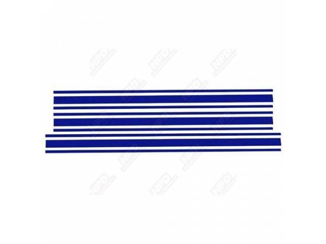 STRIPE KIT, FORD RACING ACCESSORY, DARK BLUE, SOLD