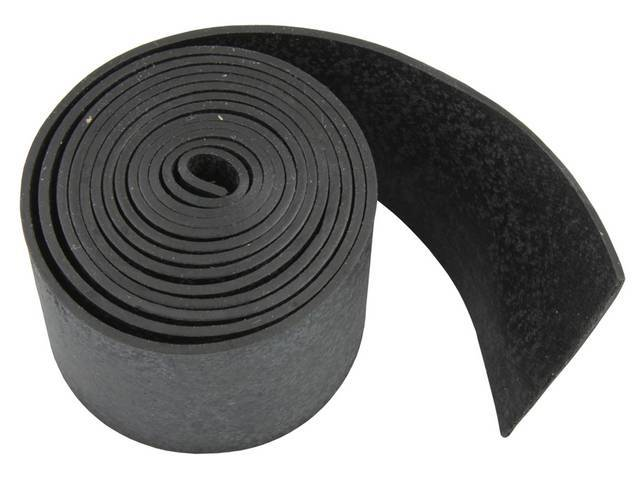 SEAL STRIP, GLASS CHANNEL, 1/16 INCH THICK