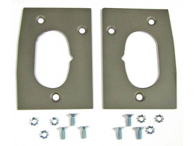 REINFORCEMENT, DOOR LATCH PLATE