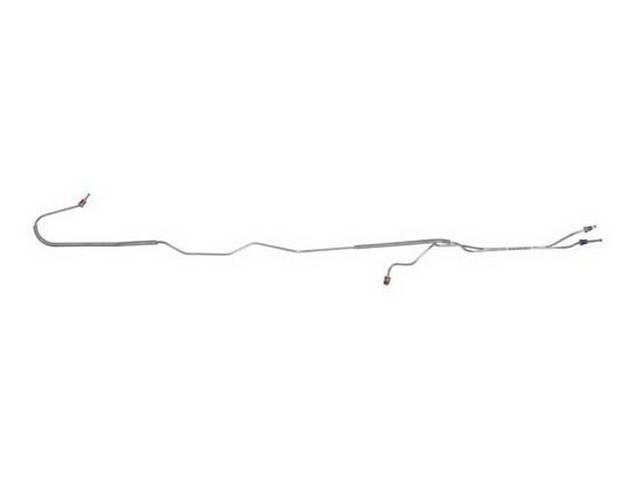 BRAKE LINE SET, Rear Axle, carbon steel, By