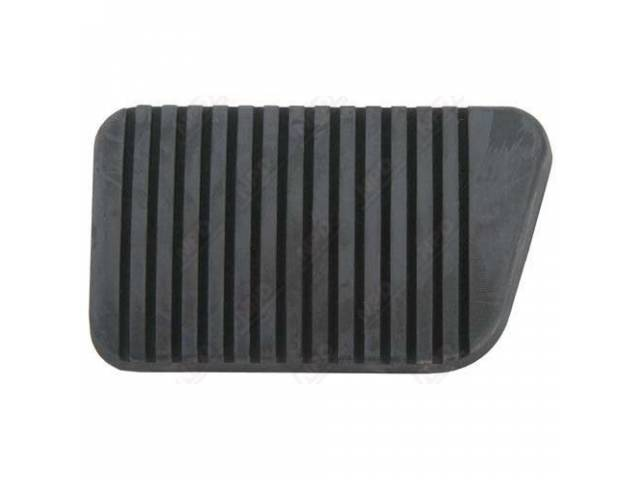 PAD BRAKE PEDAL EARLY STYLE WITHOUT EDGE GROOVE
