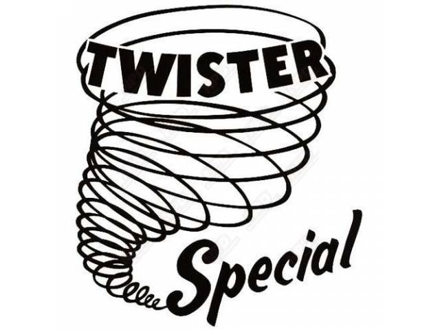 Nameplate Quarter Panel Twister Special Each Exactly As