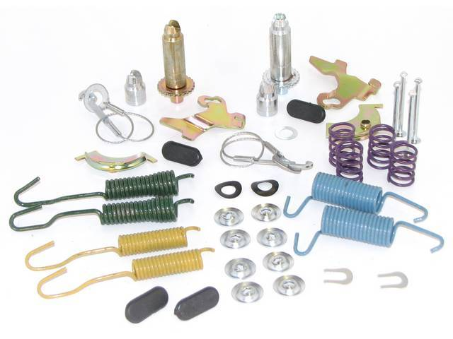 HARDWARE KIT, BRAKE DRUM, INCLUDES SHOE RETRACTING SPRINGS,