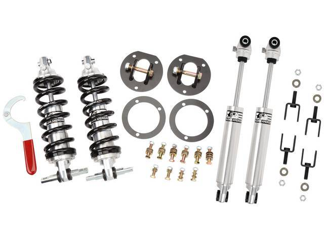 SUSPENSION PACKAGE, Combines the single adjustable 450 pound