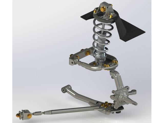 FRONT SUSPENSION CONVERSION KIT, Adjustable Coil Over, by