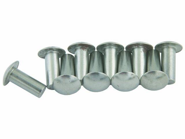RIVET KIT, CONTROL ARM BALL JOINT, CONCOURS, (10),