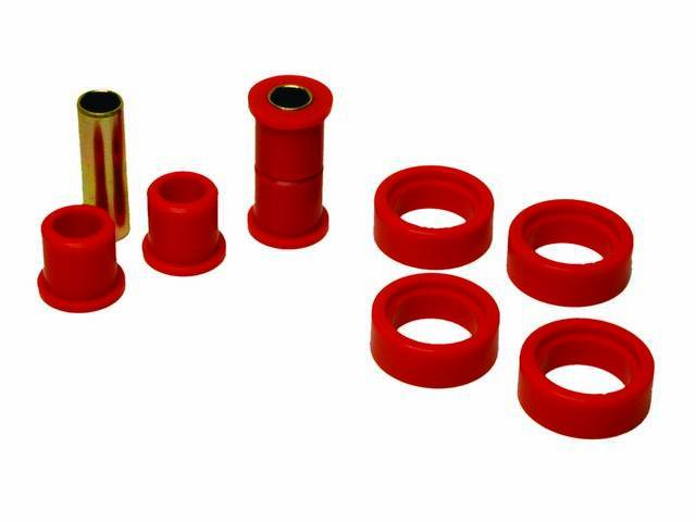 BUSHING KIT, LOWER CONTROL ARM, PROTHANE, RED, MUST