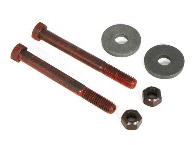 MOUNTING KIT, IDLER ARM TO FRAME, CONCOURS, (6),