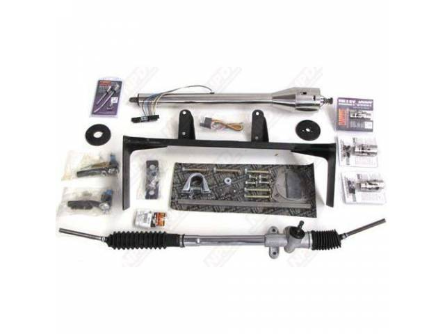 RACK AND PINION CONVERSION SYSTEM, INCLUDES RACK THAT